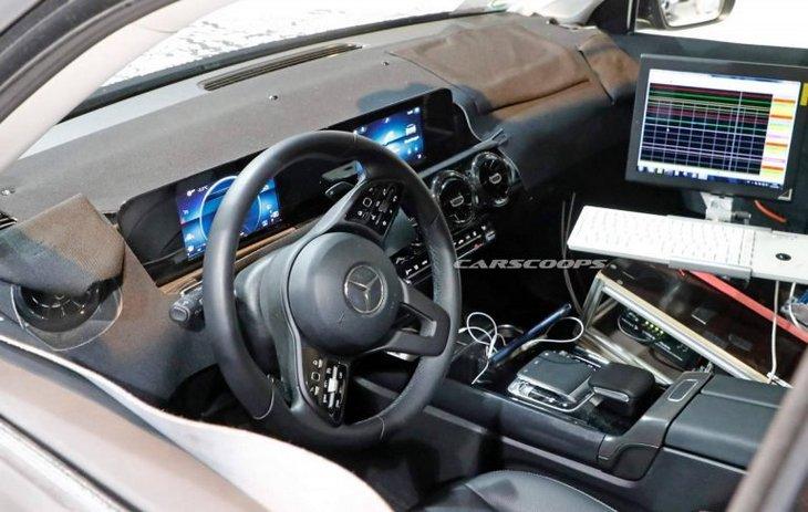 Mercedes-AMG представит летом заряженный кроссовер GLB35 на 300 лошадей 2