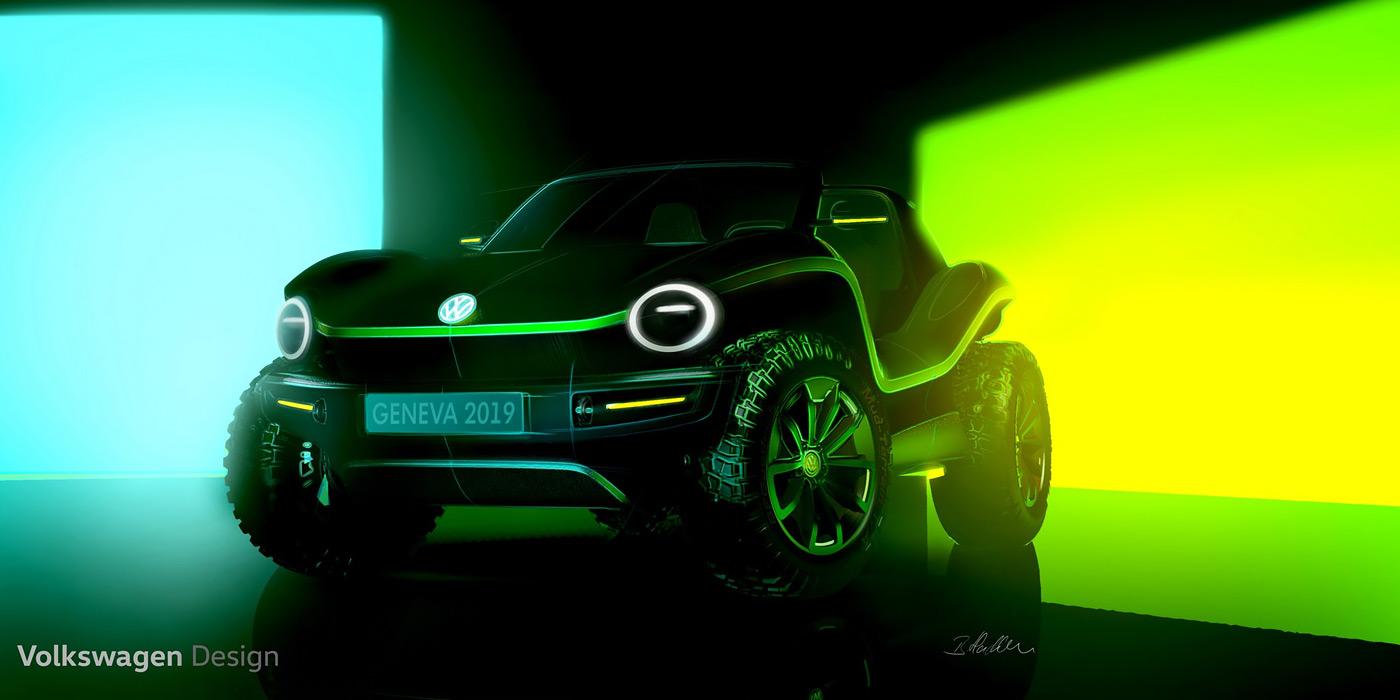 Volkswagen анонсировал премьеру электрического пляжного багги 1