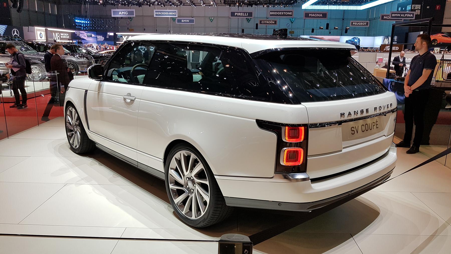 Британцы свернули проект «самого дорогого» Range Rover 2