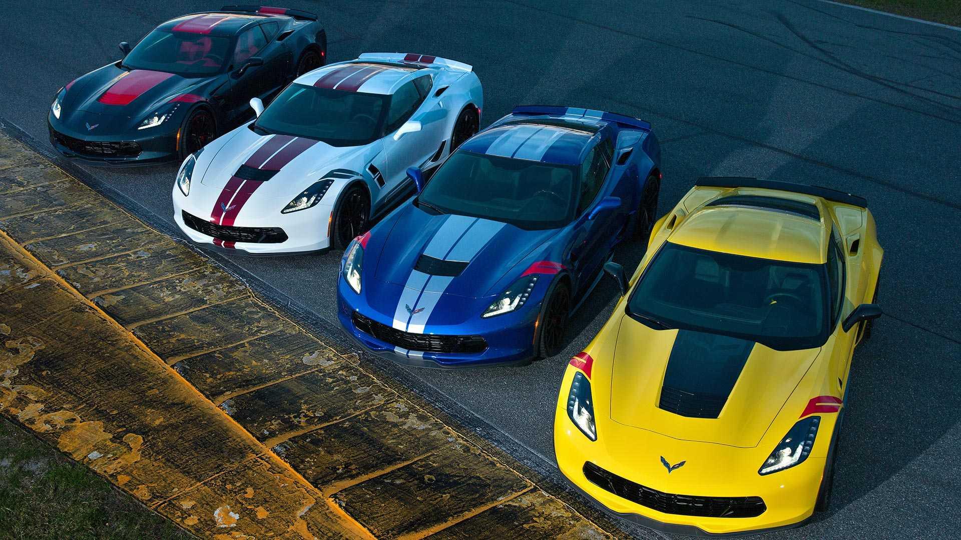 Chevrolet представил в Дайтоне Corvette Drivers Series Editions 1