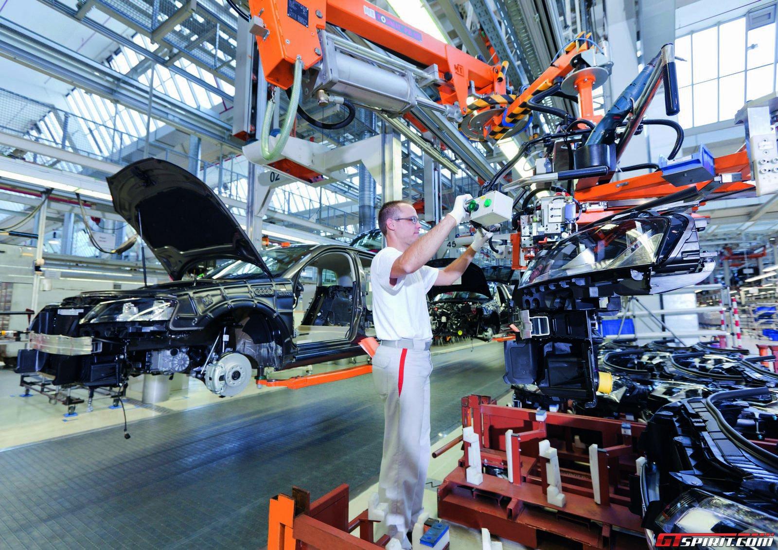Бастующий завод Audi в Венгрии остановил производство в Германии 1