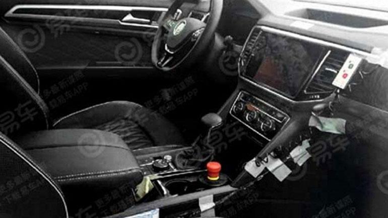 Интерьер купеобразного Volkswagen Teramont показали на первых фото 2