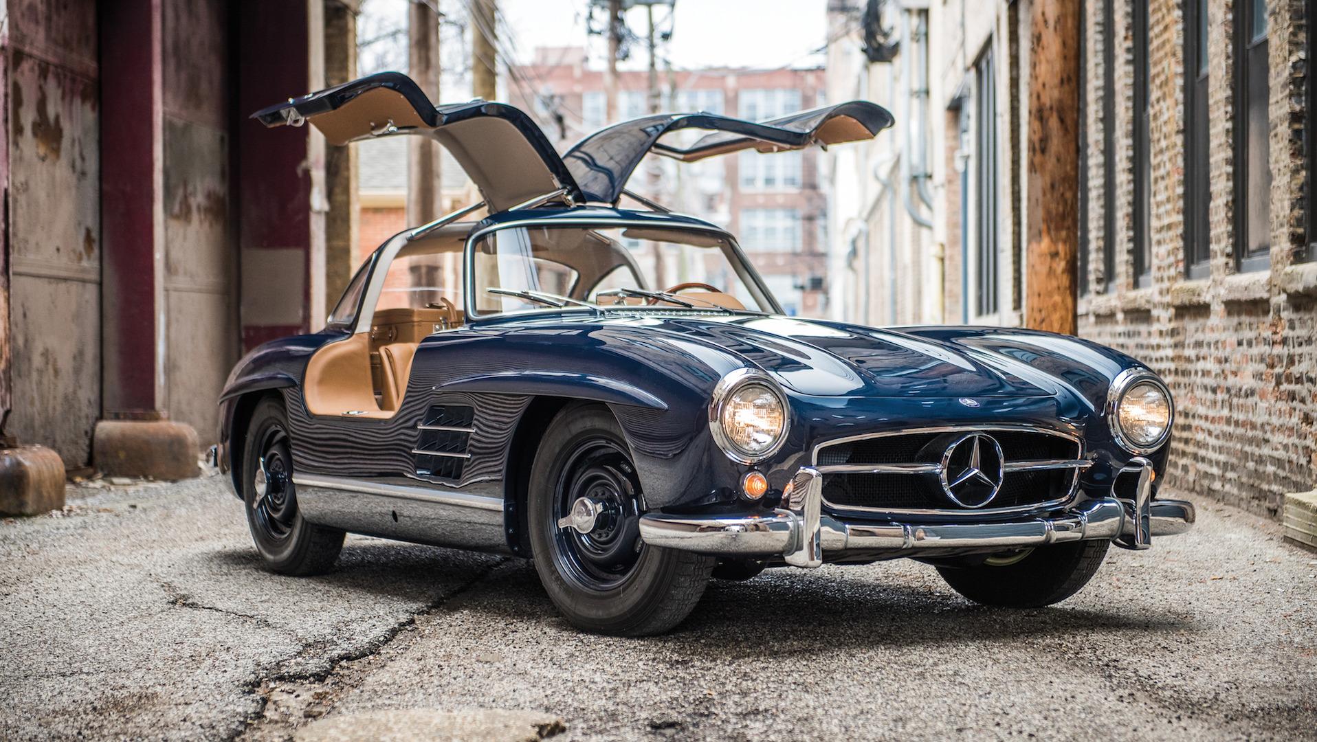 Mercedes-Benz в новом SL возродит дух «крыла чайки» 1