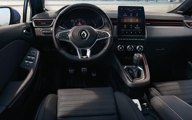 Renault показала салон нового Clio 1