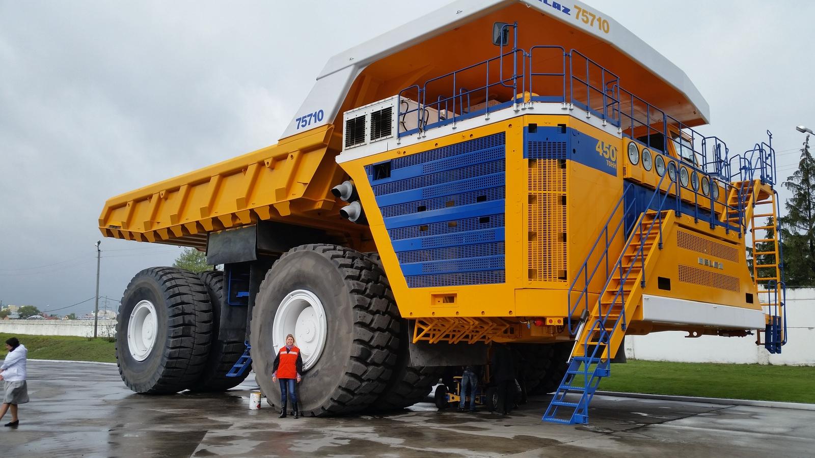Самосвалы «БелАЗ» массово переведут на газ 1