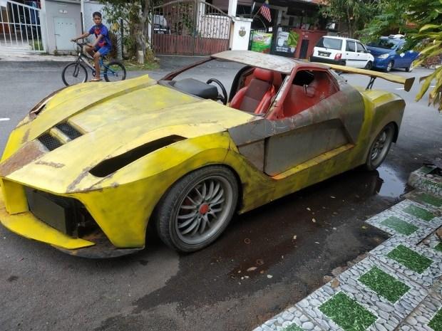 Найдена самая худшая в мире реплика Ferrari LaFerrari 3