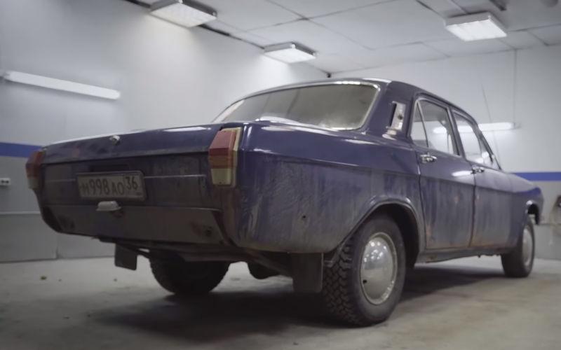 Белорусы превратили ржавую Волгу в мечту коллекционера 2