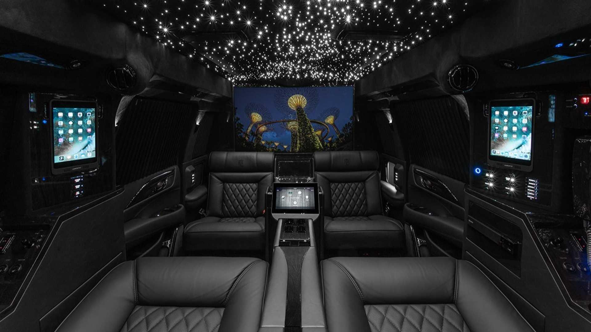 Lexani превратил Cadillac Escalade в лимузин Viceroy Edition 2