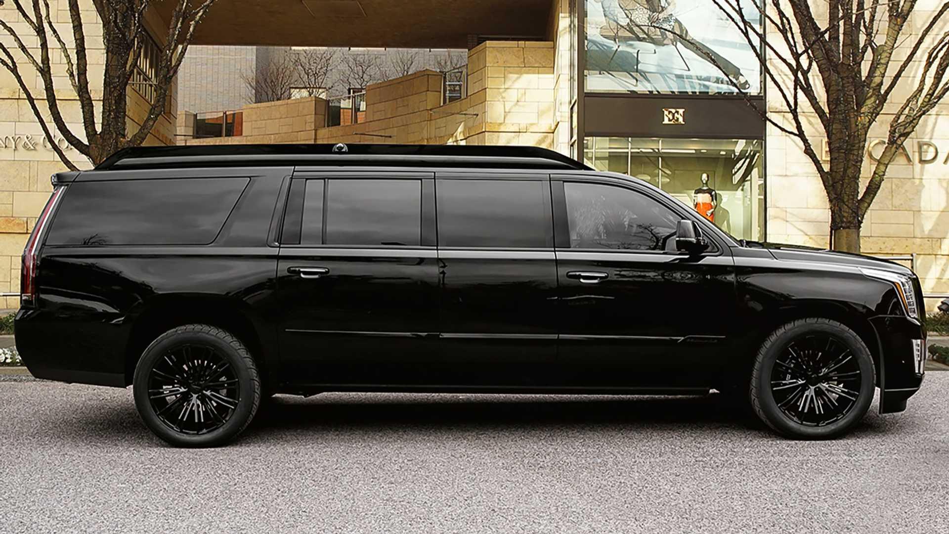 Lexani превратил Cadillac Escalade в лимузин Viceroy Edition 1