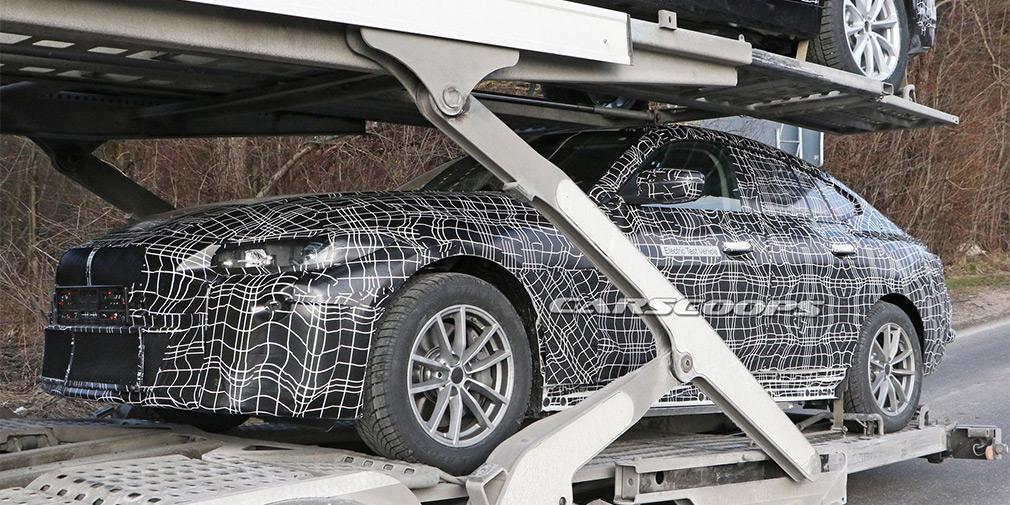 Опубликованы первые фотографии нового электрокара BMW i4 1