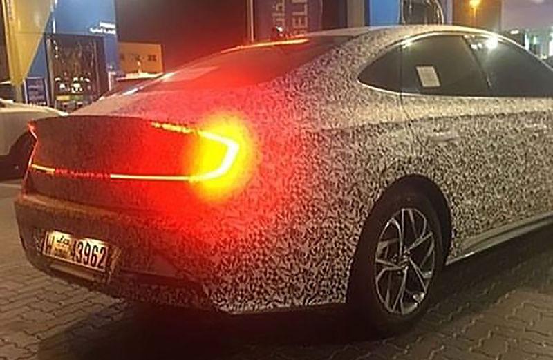 Новую Hyundai Sonata испытывают жарой 1