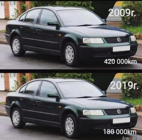 Скручивание пробега на автомобиле высмеяли во флэшмобе «10 years challenge» 1