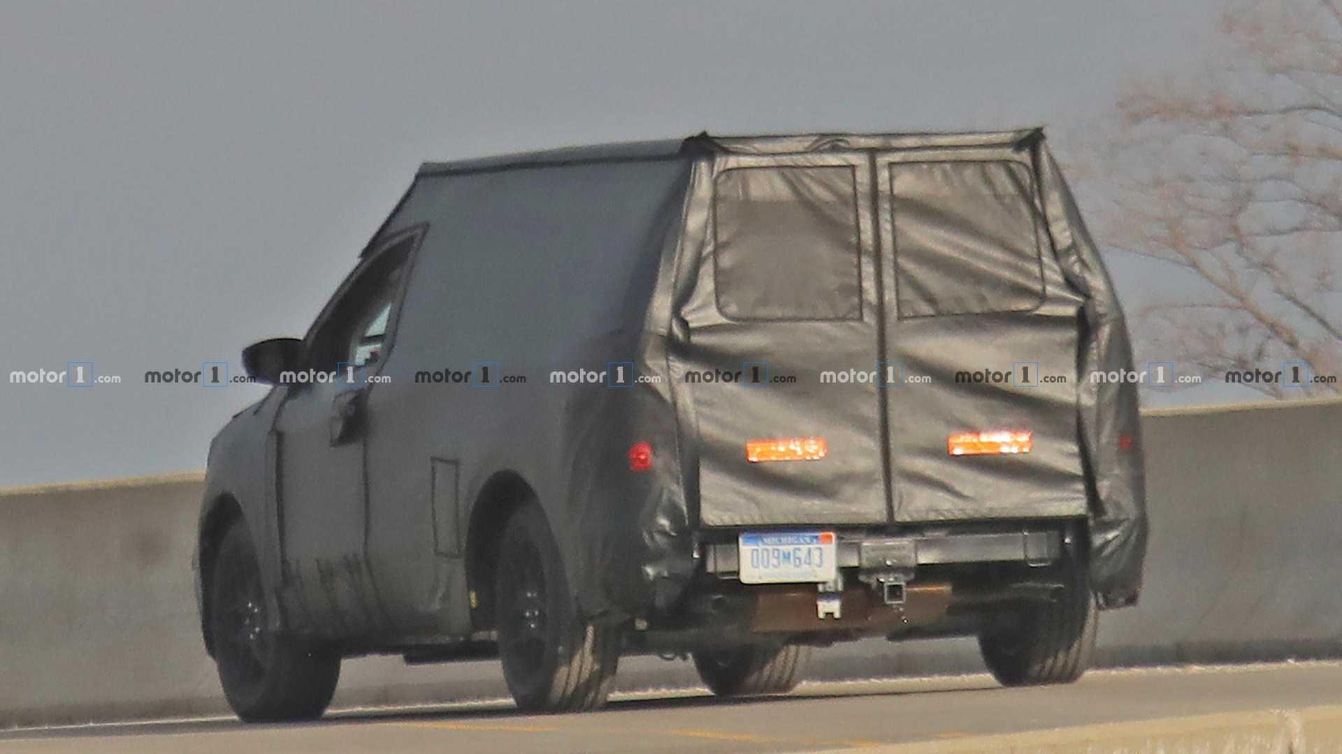 Ford объявил о работе над компактным пикапом 2