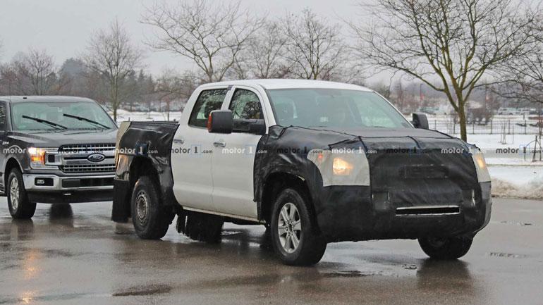Toyota Tundra 2020 впервые замечен во время тестов 1
