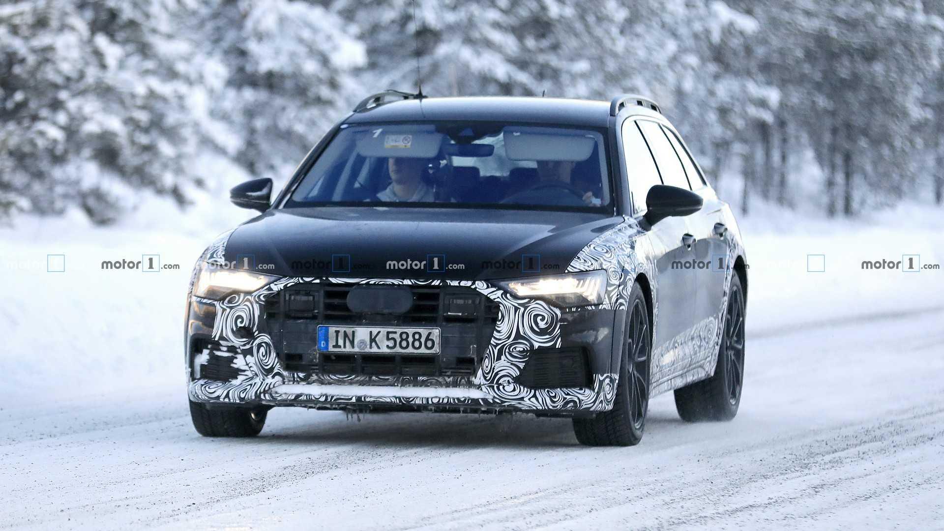 Новая Audi A6 Allroad вышла на тесты 1