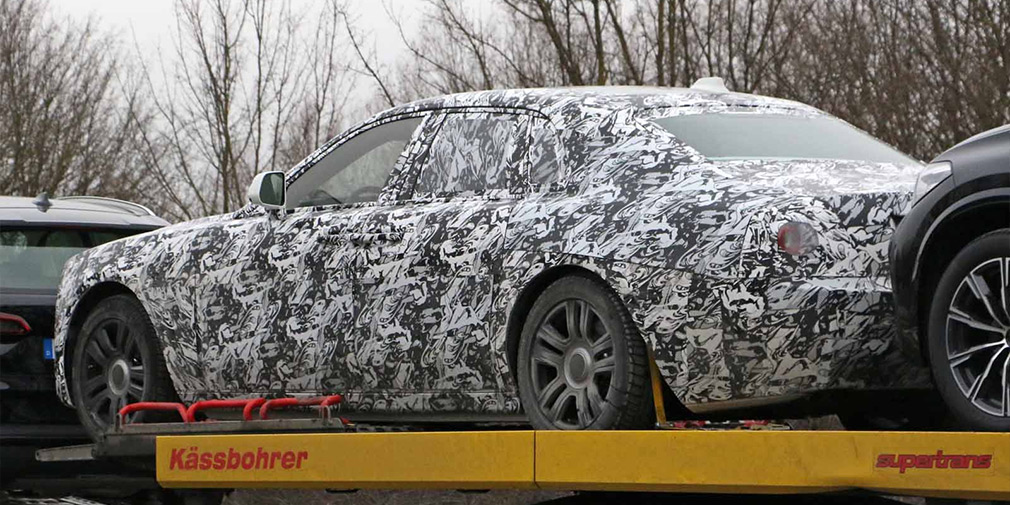 Опубликованы первые фотографии нового Rolls-Royce Ghost 2
