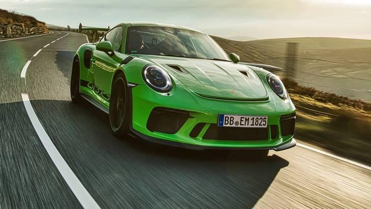 Porsche сохранит атмосферный двигатель на новом 911 GT3 RS 1