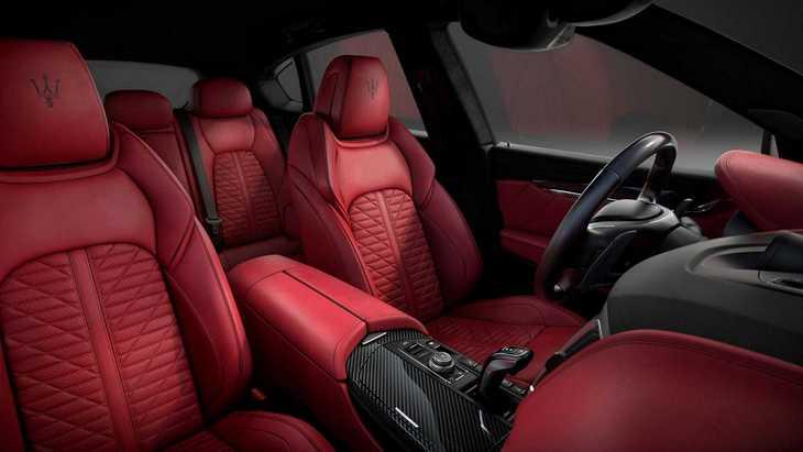 Maserati выпустил спецверсию внедорожника Levante Vulcano 2