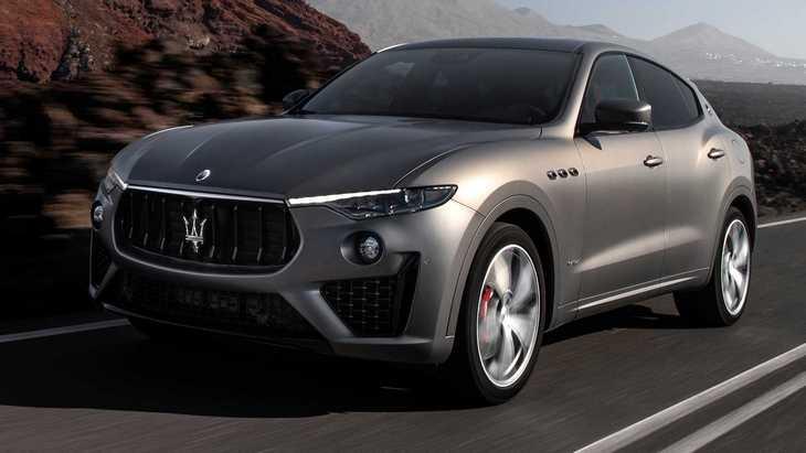 Maserati выпустил спецверсию внедорожника Levante Vulcano 1