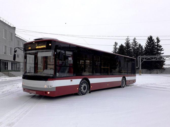 Автобусы Богдан получили двигатель IVECO и коробку автомат 1