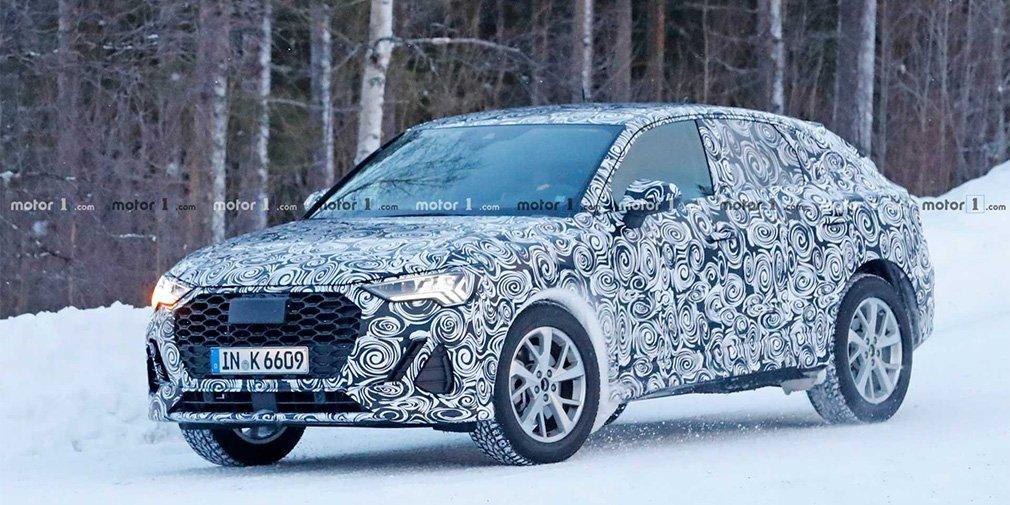 Новый купеобразный кроссовер Audi замечен на тестах 1