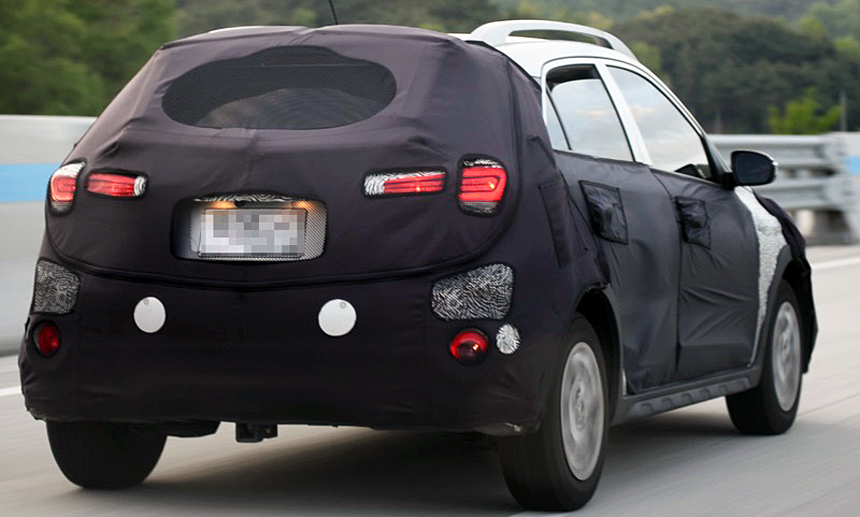 Компактный кроссовер Hyundai Styx представят в Нью-Йорке 1
