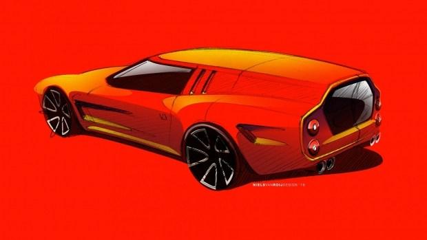 Появились первые изображения будущего фургона Ferrari 2