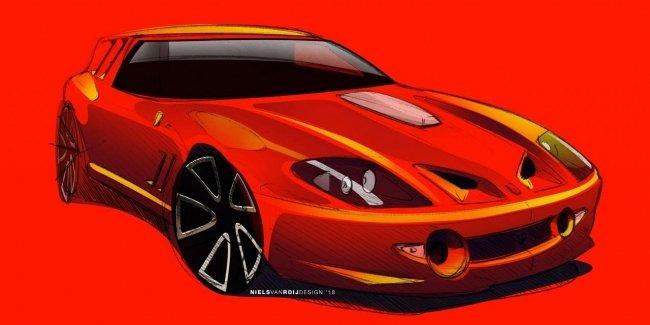 Появились первые изображения будущего фургона Ferrari 1
