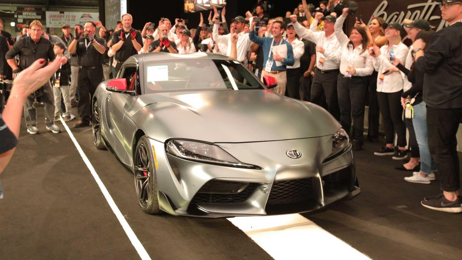 Новую Toyota Supra продали за 2,1 млн долларов 1