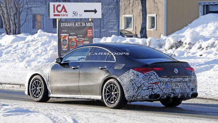 Mercedes-AMG готовит для нового CLA 45 мотор на 416 лошадей 2