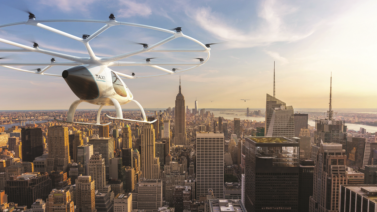 В Нью-Йорке появились настоящие летающие такси 1