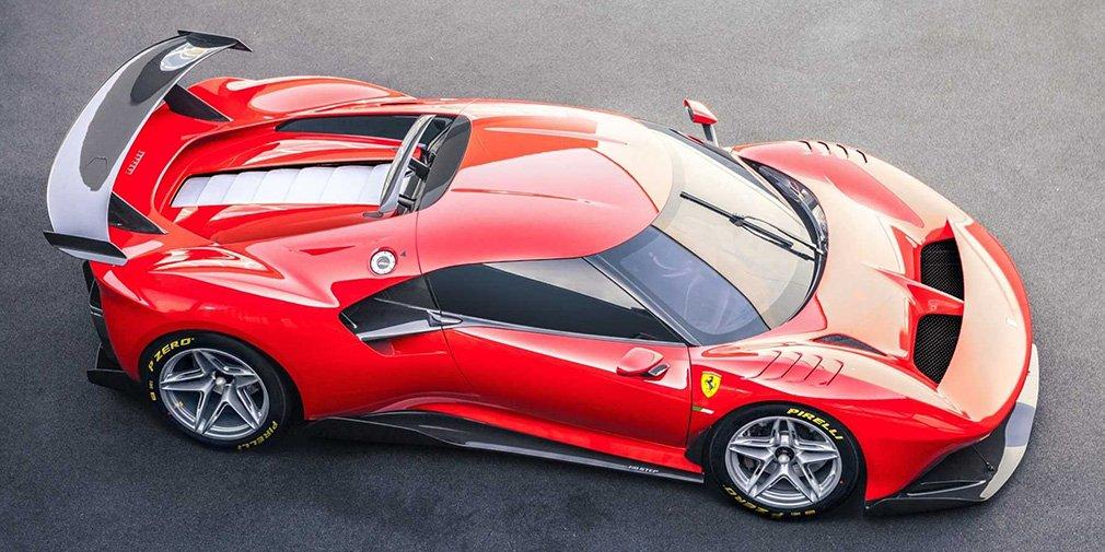 Ferrari представила уникальный трековый суперкар 1