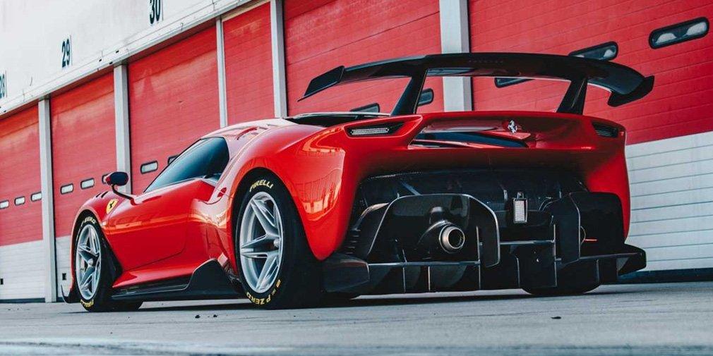 Ferrari представила уникальный трековый суперкар 2