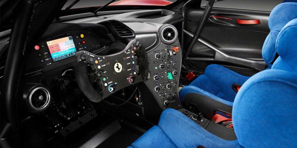 Ferrari представила уникальный трековый суперкар 3