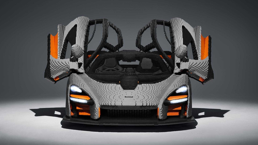 McLaren Senna собрали из Lego 1