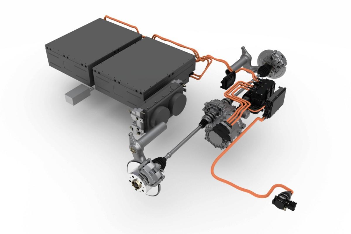 В Германии разработали универсальный гибридный привод для легких грузовиков 2