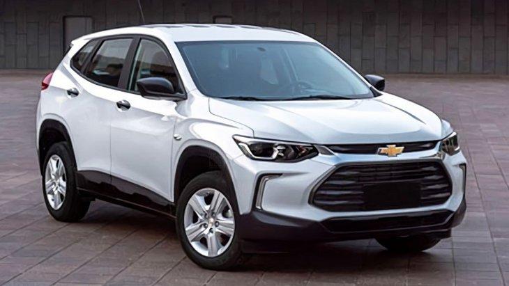 Chevrolet выпустил тизер сразу двух новых внедорожников 1