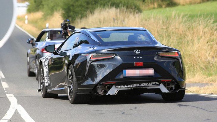 Долгожданный LC F от Lexus выйдет до конца 2019 года 1