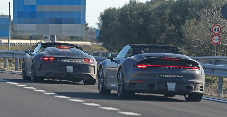 Porsche представит в Нью-Йорке новый 911 Speedster 1