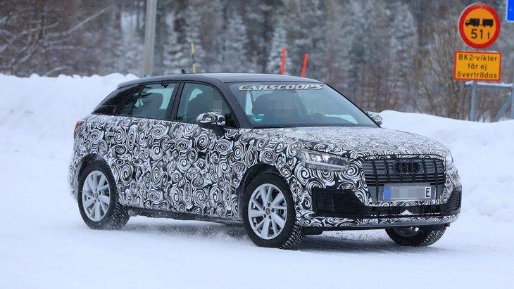 Audi представит в Шанхае концепт компактного электромобиля будущего 2