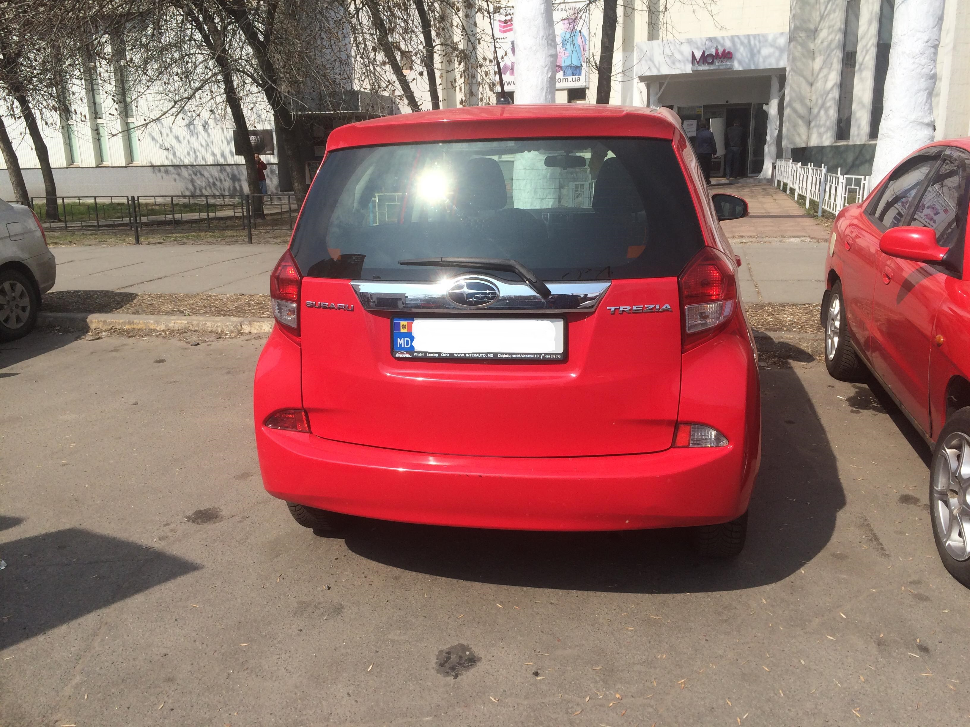 В Украине замечен компактвэн Subaru 2