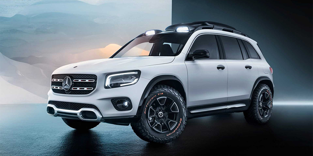 Mercedes представил «маленький Gelandewagen» 1