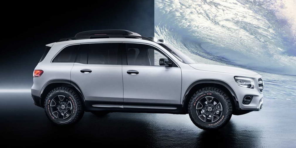 Mercedes представил «маленький Gelandewagen» 2