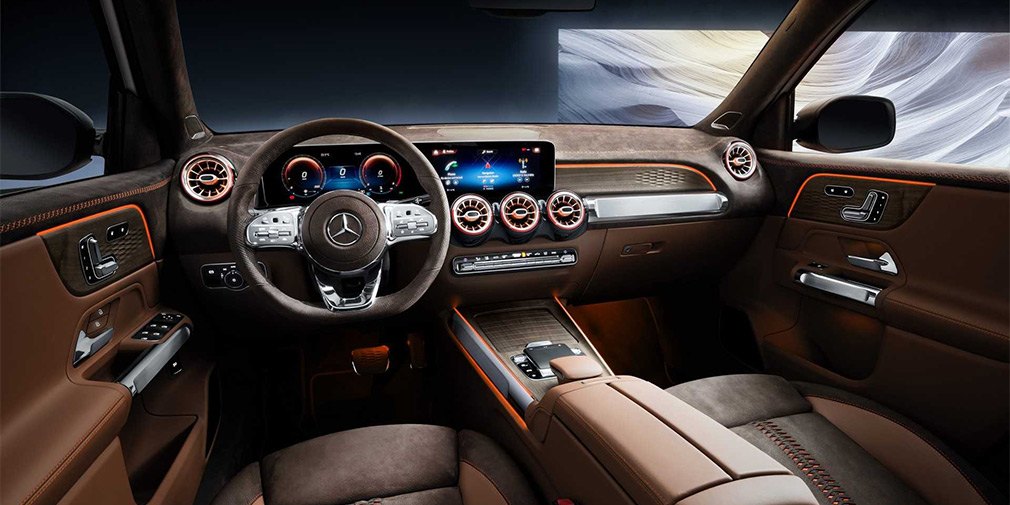 Mercedes представил «маленький Gelandewagen» 4