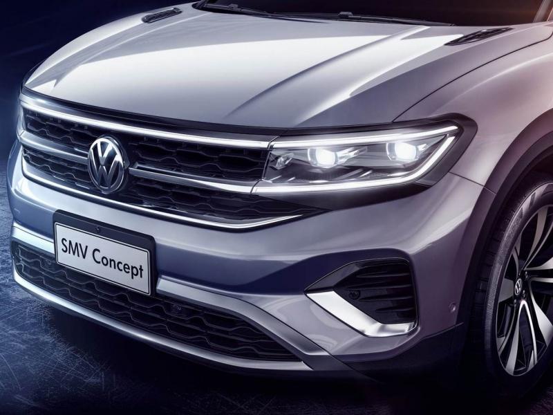 Volkswagen показал ещё один гигантский кроссовер 1