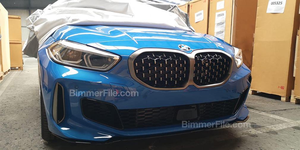 BMW 1-Series заметили без камуфляжа 1