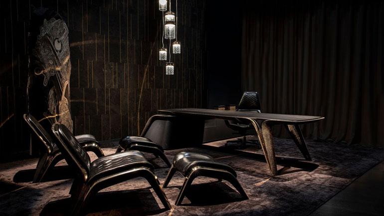 В честь 100-летнего юбилея Bentley британцы выпустили коллекционную мебель 1