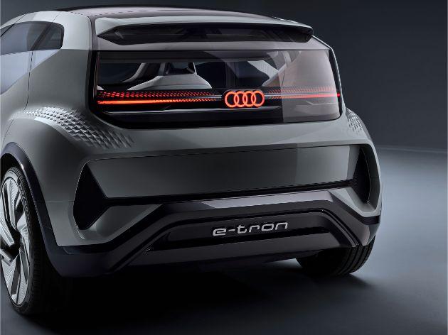 Audi показала электрический хэтчбек A2 для мегагорода 2