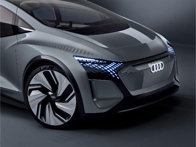 Audi показала электрический хэтчбек A2 для мегагорода 4