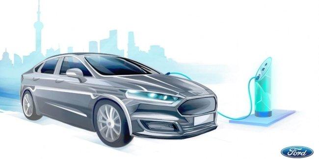 Ford запустит 10 новых электромобилей в Китае через 3 года 1